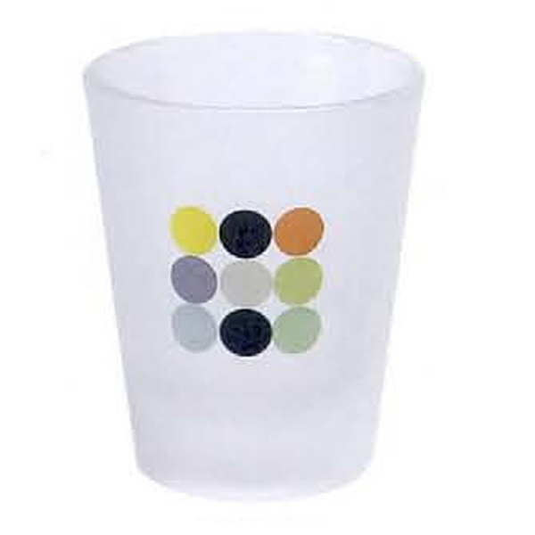 1 1/2 oz. Frosted Shot Glass