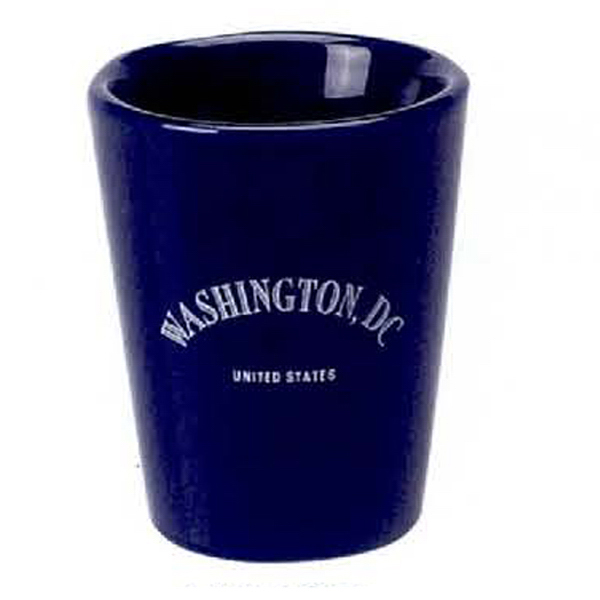 Customized 1 3/4 oz. Ceramic Shot Glass