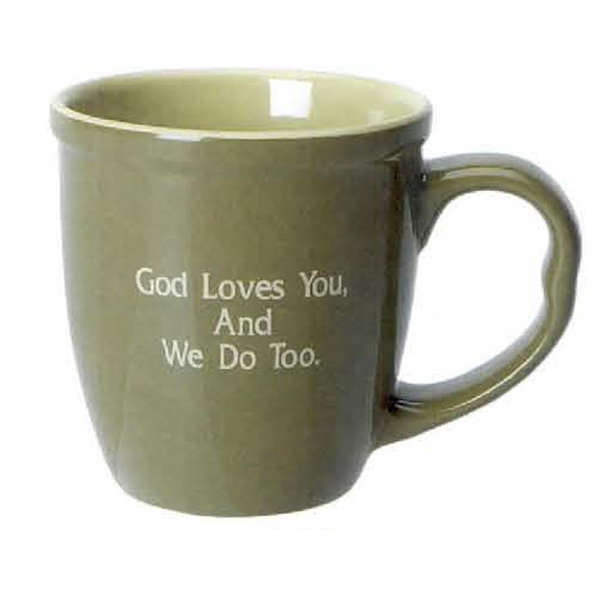 Customized 20 oz. Two Tone Jumbo Mug