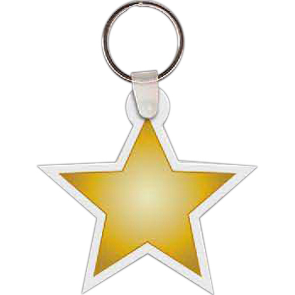 Promotional Star Key Tag