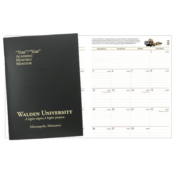 Academic Monitor 7 x 10 Planner