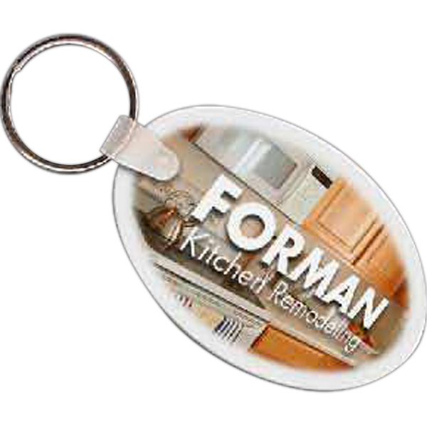 Customized Oval Key Tag
