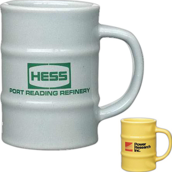 Customized 12 oz. Barrel Mug