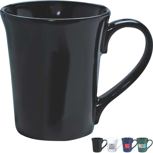 Personalized 12 oz. Flair Mug (Gloss)