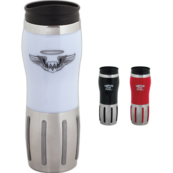 Promotional 16 oz Gripper Tumbler