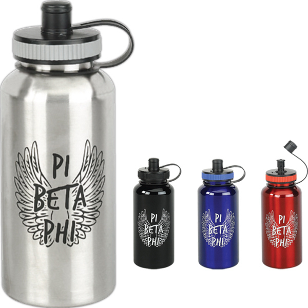 Custom 32 oz Stainless Water Bottle