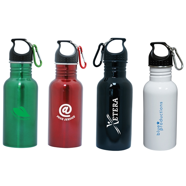 18 oz./532ml stainless steel water bottle