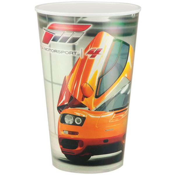 Printed Maxcolor Double Wall Insulated Thermal Cup