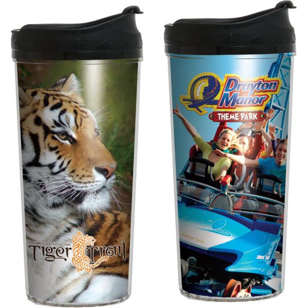 16 oz Niagara Insulated Tumbler with Full Color Imprint