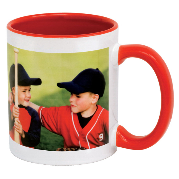 Exhibit 11 oz. Ceramic Combo Mug with Sublimation