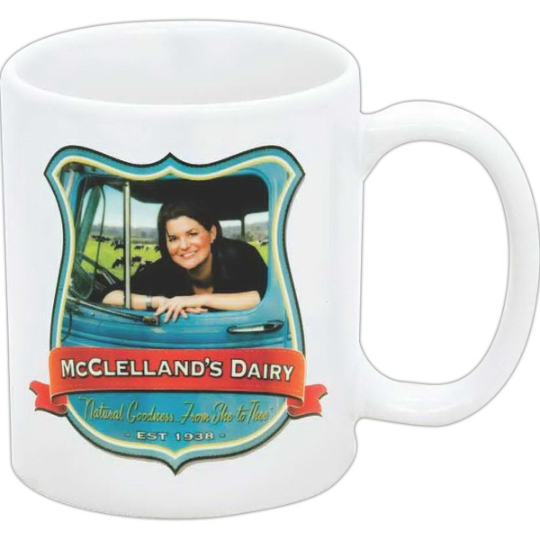 Sublime 11 oz Ceramic Mug with Sublimation