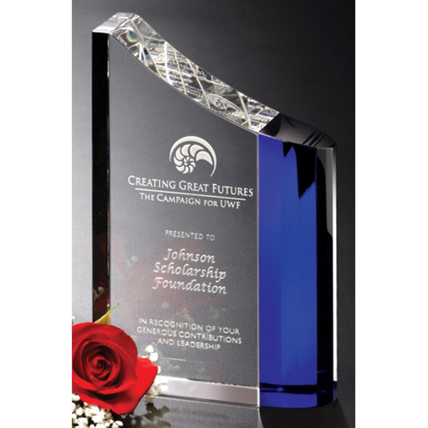 Custom Faceted Wave Award