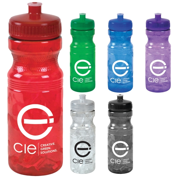 24 oz Translucent Sports Bottle