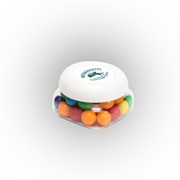 Gum Balls in Small Snack Canister
