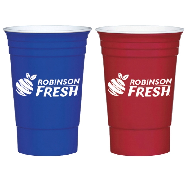 Promotional 16 oz. Big Party Cup on Mega Special