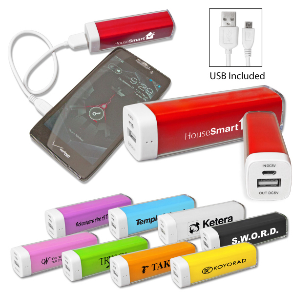 Customized Two-Tone Power Pack