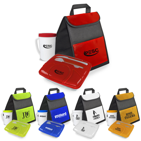 Personalized Grab Lunch and Drink Kit