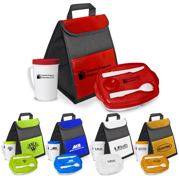 Customized Grab and Lock Your Lunch Bag