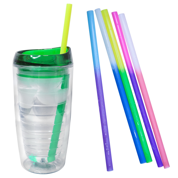 Printed Color Changing Straws