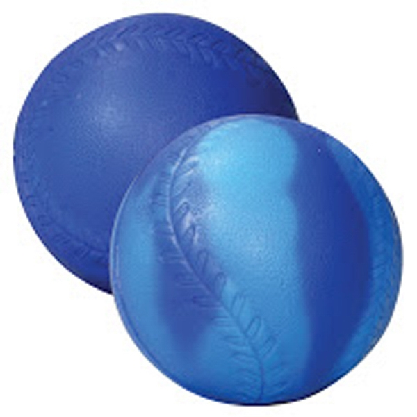 "Blue/Light Blue ""Mood"" Baseball Stress Reliever"