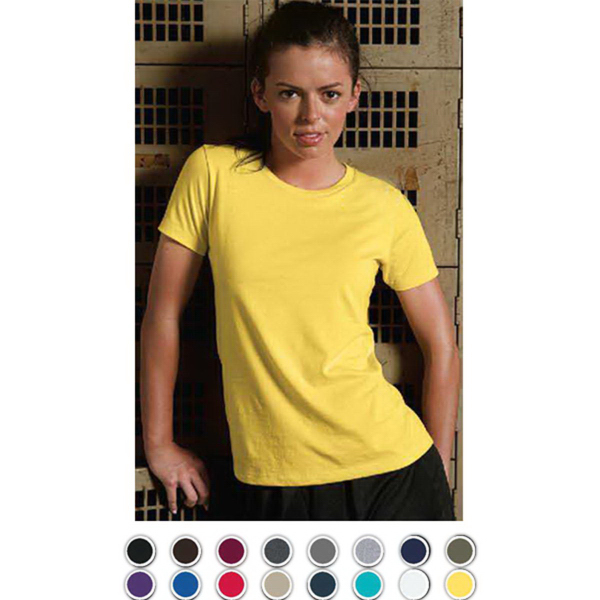 Personalized Women's Combed Ring Spun Cotton Tee