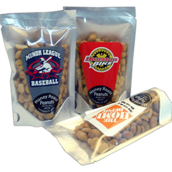 Promotional Stand-Up Bag with Pretzels