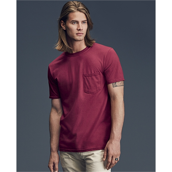 Imprinted Adult Midweight Pocket Tee
