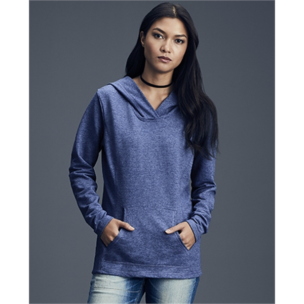 Imprinted Women's Hooded French Terry