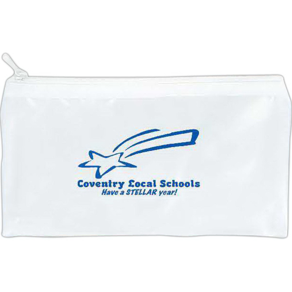 Translucent school pouch