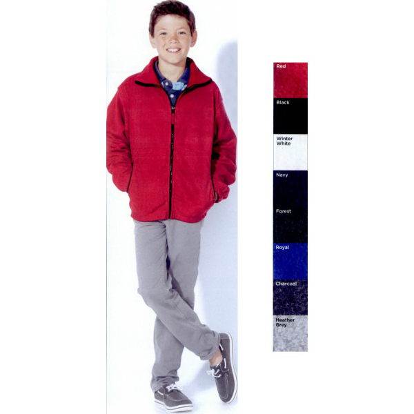 Sierra Pacific Youth Full-Zip Fleece Jacket