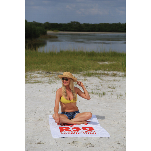 Printed Pro 1 Select 14.0 lb./doz. Beach Towel