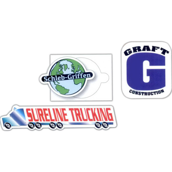 Imprinted Custom Truck Door Decals