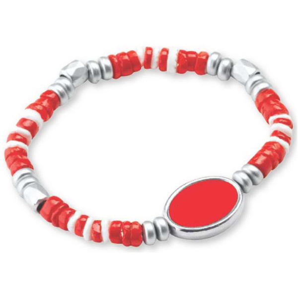 Promotional Shell Bead Stretch Bracelet