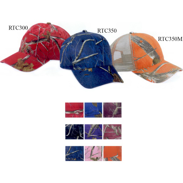 Outdoor Cap Mesh Back Camo Cap