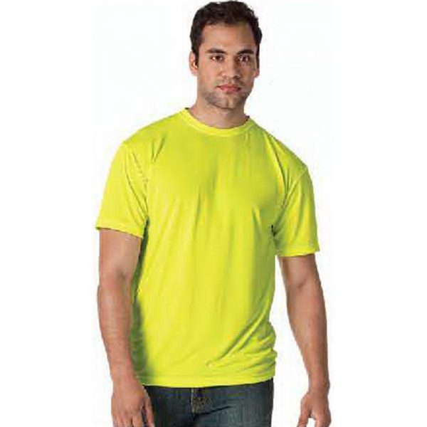 Personalized Bright Shield Performance Basic Tee.