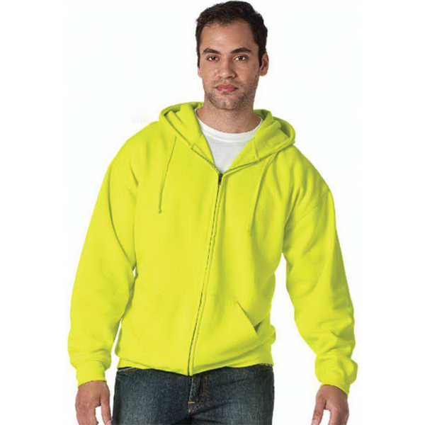 Imprinted Bright Shield Full Zip Hoodie