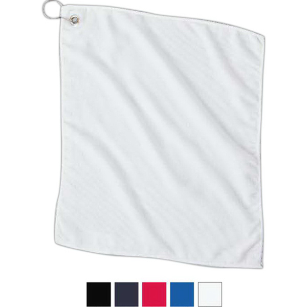 Promotional Carmel Towel-Microfiber Golf Towel