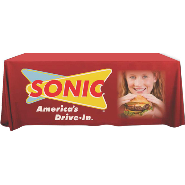 Personalized Digital Dye-Sub ValuPoly Table Covers - Rush