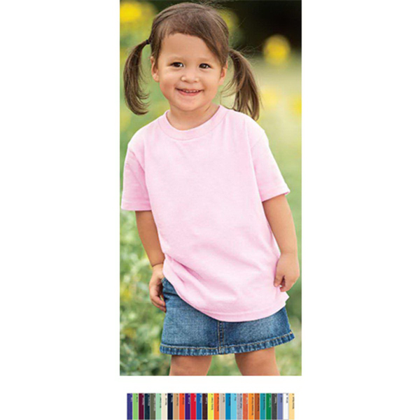 Personalized Heavy Cotton Toddler T-Shirt
