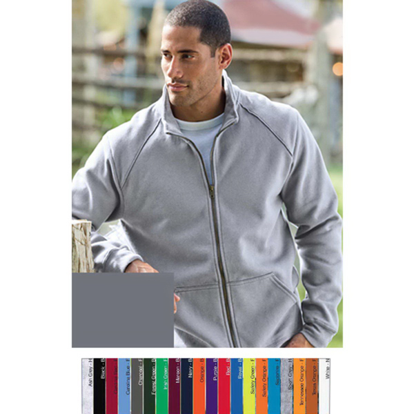 Promotional Gildan (R) Premium Cotton Ring Spung Full Zip Jacket