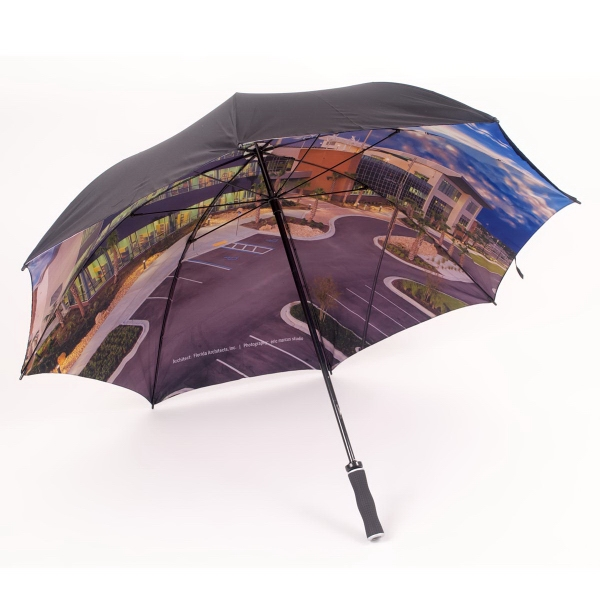 Double Cover Fiberglass Golf Umbrella