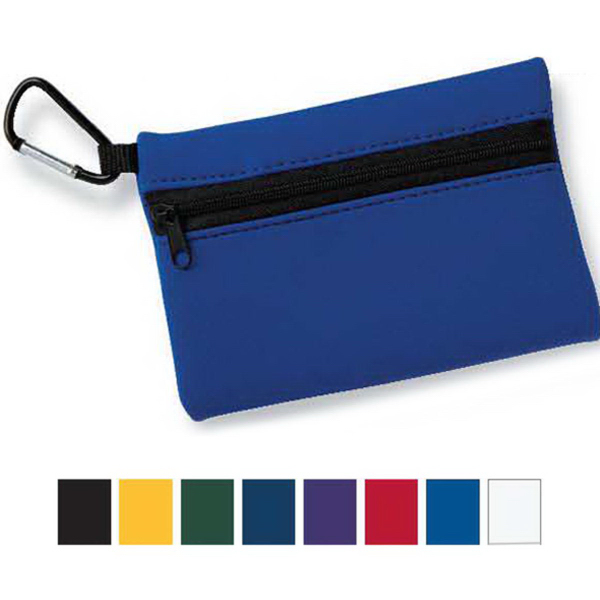 Promotional Liberty Bags Neoprene Zipper Wallet