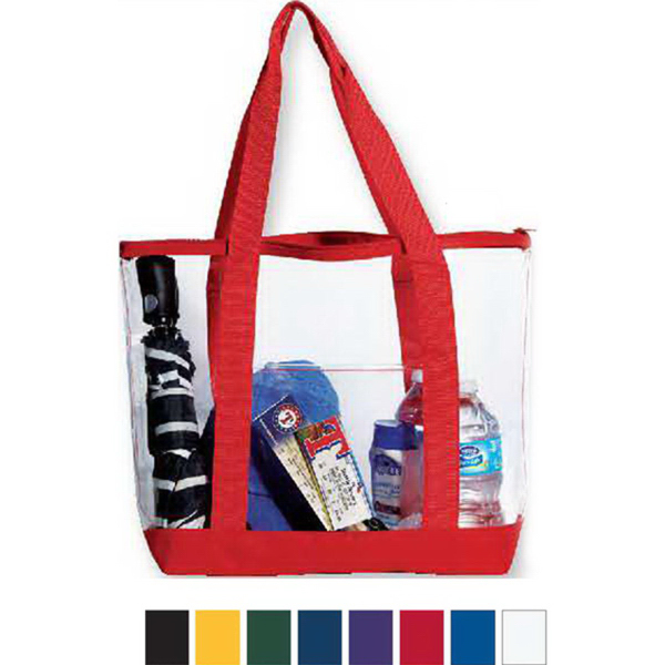Customized Liberty Bags Clear Tote Bag