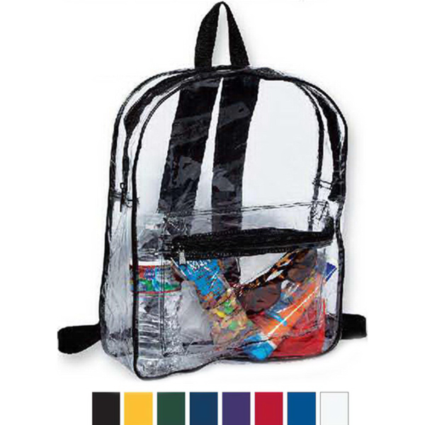 Promotional Liberty Bags Clear Backpack