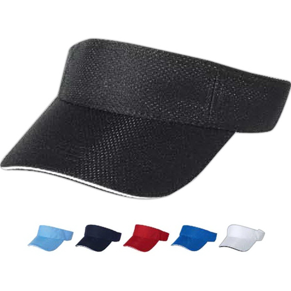 Custom Mega Cap Athletic Mesh Visor