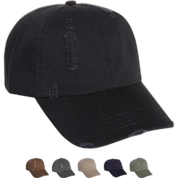 Printed Mega Cap Low Profile Unstructured Twill Cap