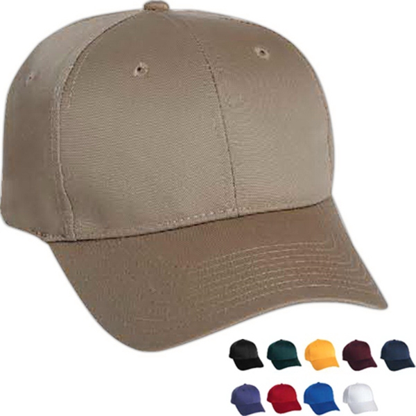 Custom Mega Cap Low Profile Structured Twill Cap