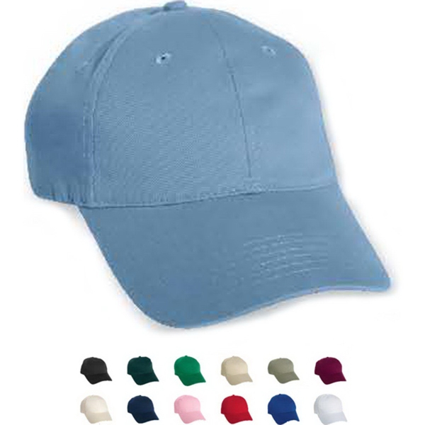 Promotional Mega Cap Low Profile Soft Structured Twill Cap