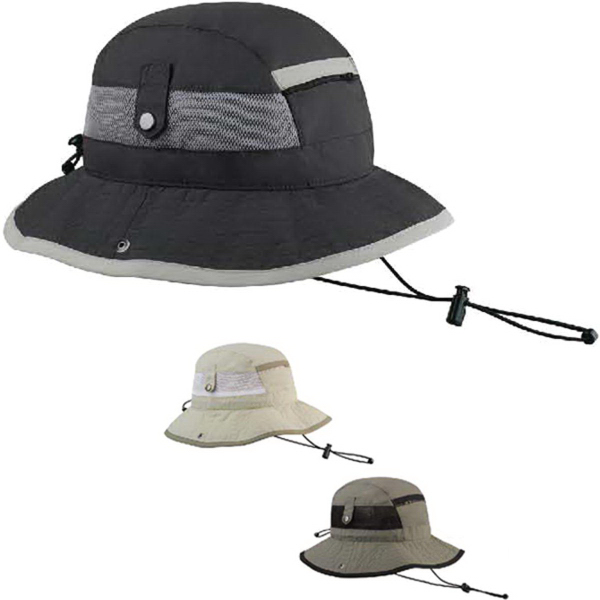 Personalized Juniper Taslon UV Bucket Hat