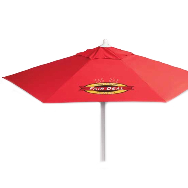 7 FT Telescopic Aluminum Market Umbrella